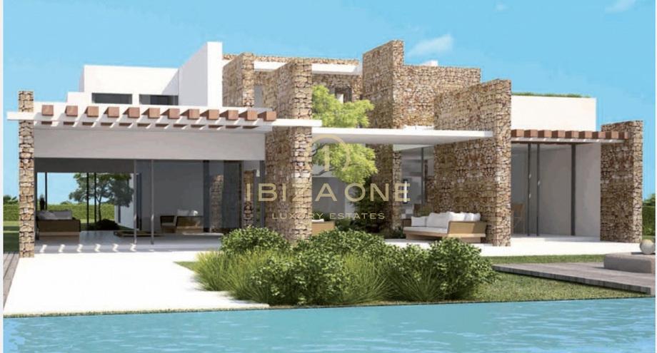 Moderne neubau villen am meer ibiza one luxus immobilien for Ville moderne immagini