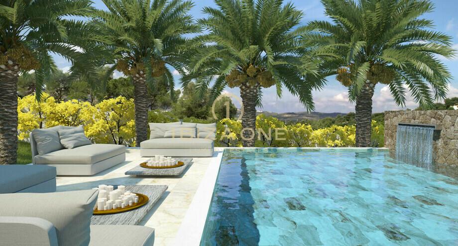 luxus villa zum verkauf in der n he von ibiza jesus. Black Bedroom Furniture Sets. Home Design Ideas