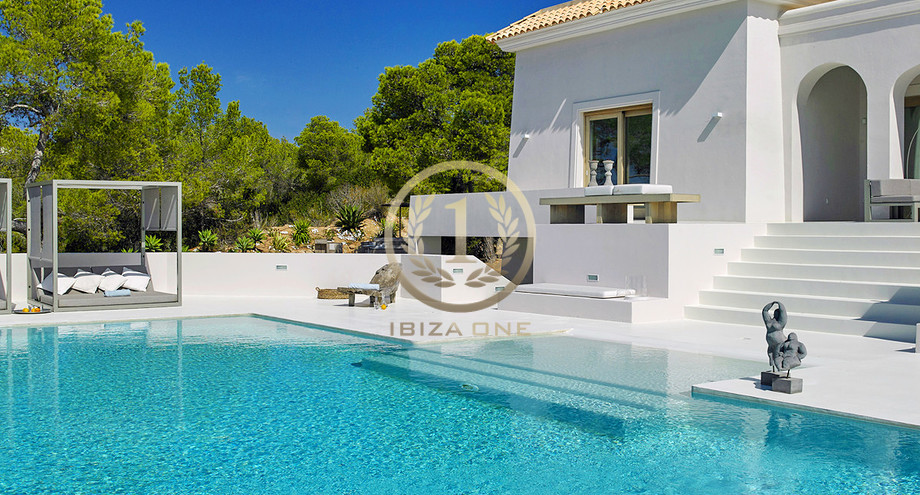 4a1573020d Modern luxury villa with sea view for sale and rent - Ibiza One ...