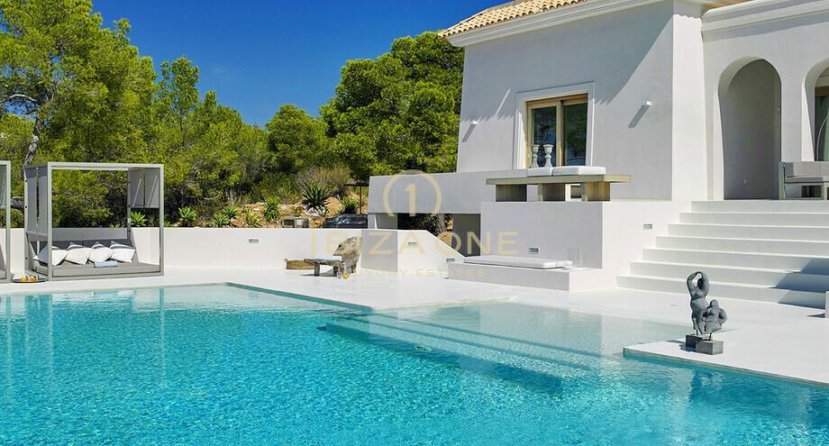 Moderne villa de luxe avec vue sur la mer à vendre et louer - Ibiza ...