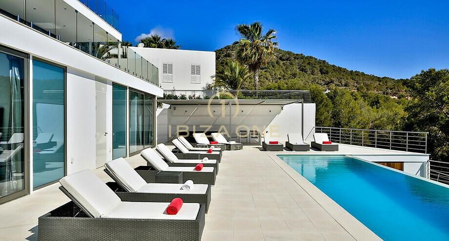 luxuri se moderne villa in der n he ibiza zu verkaufen und. Black Bedroom Furniture Sets. Home Design Ideas