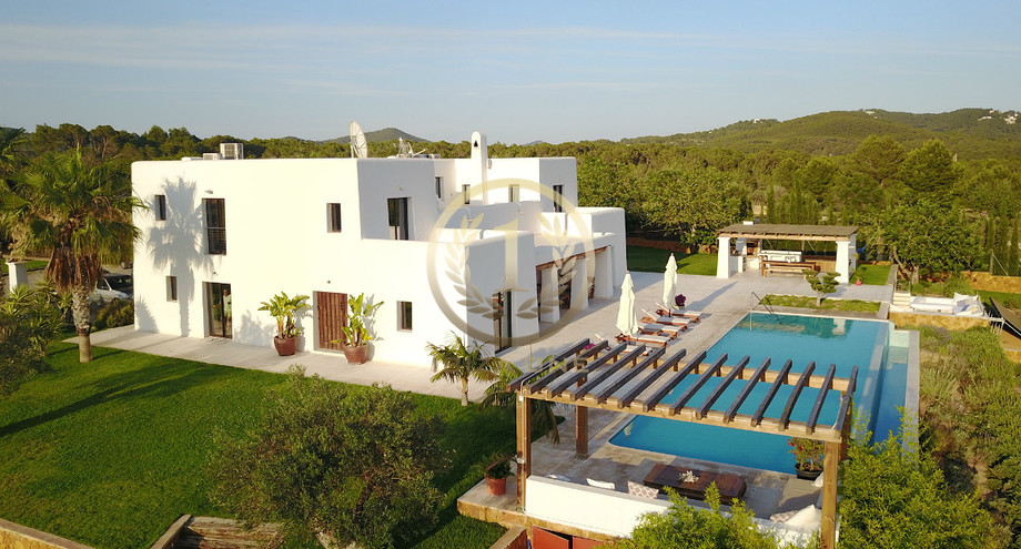 e29f10eb44 New luxury finca in Ibiza in Blakstad style with large plot for sale - very  close to Ibiza and Sta. Gertrudis - Puig d en Valls