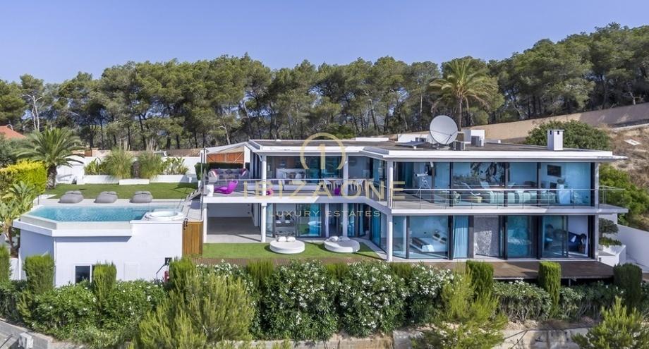 Villa de luxe moderne à Ibiza avec vue sur la mer à Can ...