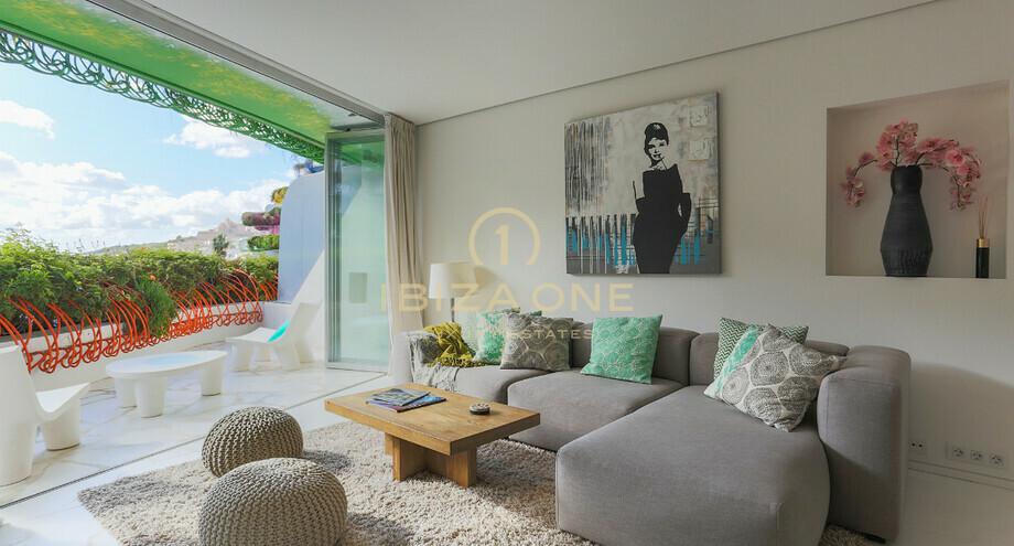 Modern luxury apartment in Ibiza on Paseo Maritimo in Las ...