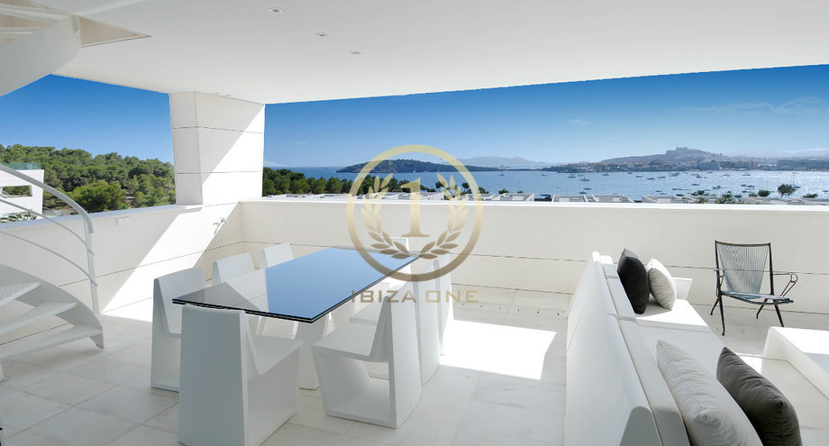 Lussuoso attico moderno in vendita a ibiza es pouet ibiza one