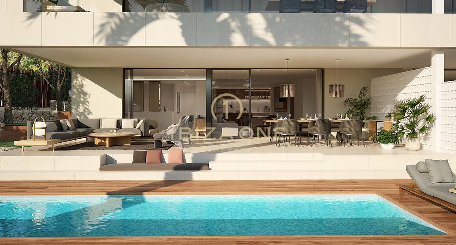 3 Schlafzimmer Wohnung Mit Garten Und Pool Nah An Ibiza Zum