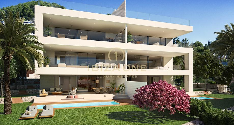 3 Schlafzimmer Wohnung mit Garten und Pool nah an Ibiza ...